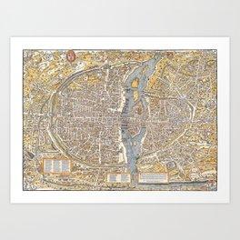 Paris 1550 Art Print