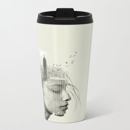 Reflection, New York City Metal Travel Mug