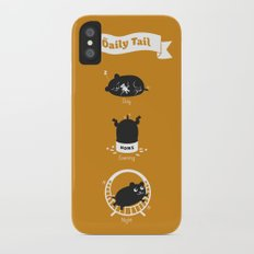The Daily Tail Hamster Slim Case iPhone X