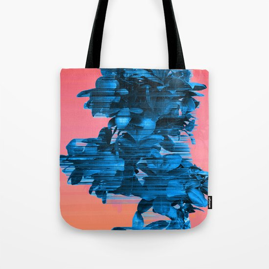 Velocious Blue Little Tree Tote Bag