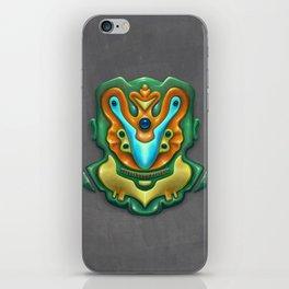 Summer Totem Green iPhone Skin