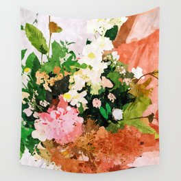 Floral Gift || Wall Tapestry