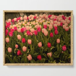 Gathering of Tulips Serving Tray