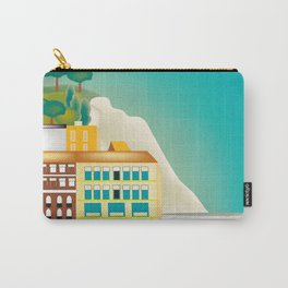 Nice, France - Skyline Illustration by Loose Petal Carry-All Pouch