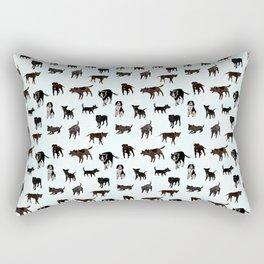 Dogs Unwanted Rectangular Pillow