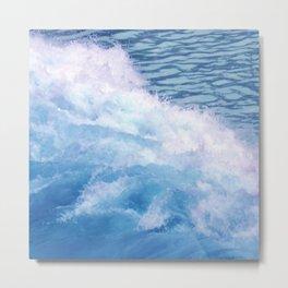 Wild waves Metal Print