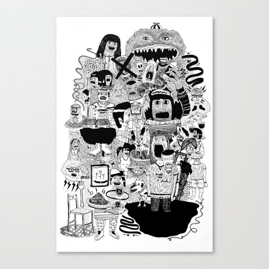 KIDS DOOM Canvas Print