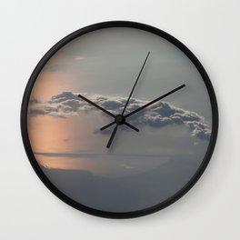 Sailing the Clouds Wall Clock
