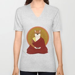Dalai-Shiba Unisex V-Neck