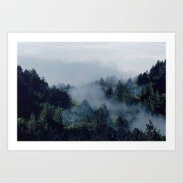 End in fire Art Print