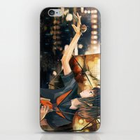 snail iPhone & iPod Skins featuring snail by Gemi