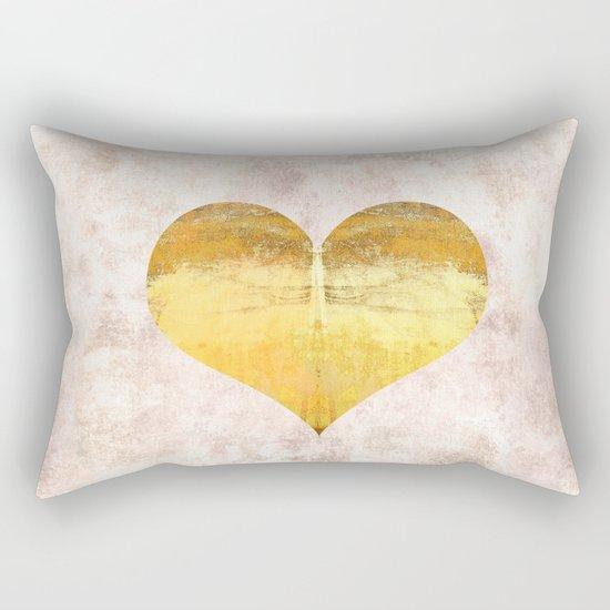 Midas Touch Rectangular Pillow