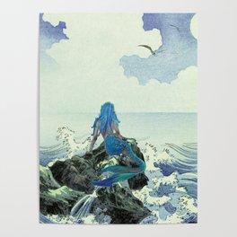 Beauty Mermaid Poster