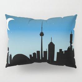 Toronto Skyline - Night Pillow Sham
