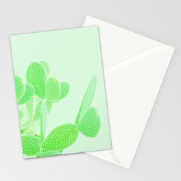 Opuntia Mint Stationery Cards