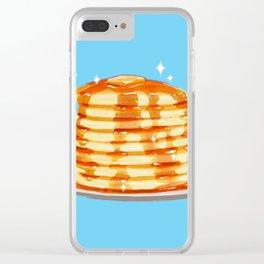 Plain Pancakes Clear iPhone Case