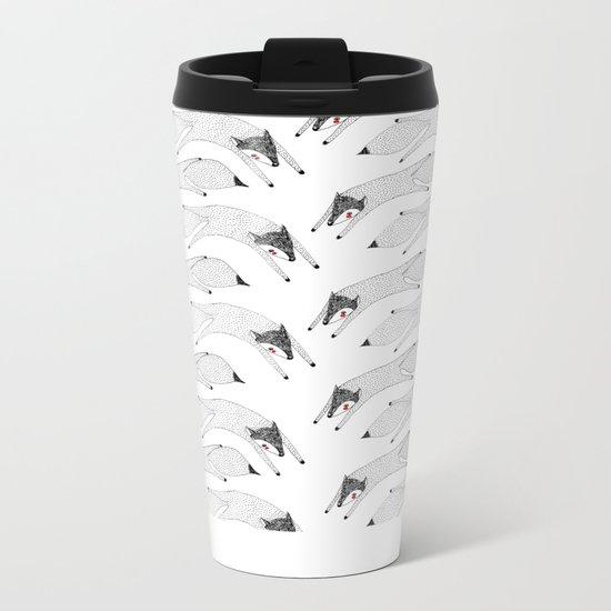 Lets Fly Away Metal Travel Mug