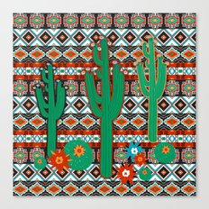 Southwest Cactus Canvas Print