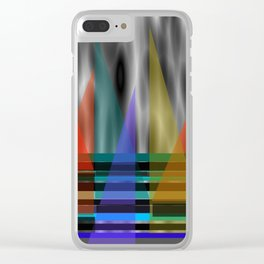 Wind In My Sails Clear iPhone Case