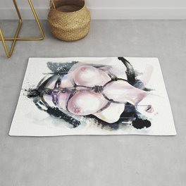 Shibari - Japanese BDSM Art Painting Rug