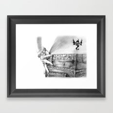 My Favorite Jeans Framed Art Print