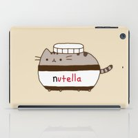 nutella iPad Cases featuring Nutella Cat by Wis Marvin