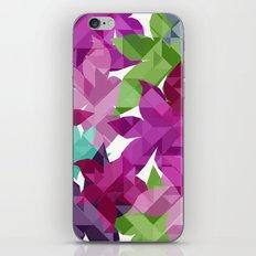 Geometric Floral I iPhone & iPod Skin