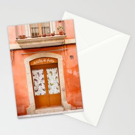 Doors of Barcelona. Stationery Cards