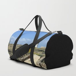 Lighthouse in Paphos Duffle Bag