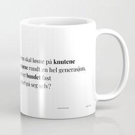 Poesikopp / REP / @skrivelisa Coffee Mug