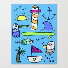 Sea Things  Canvas Print
