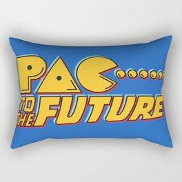 Pac to the Future Rectangular Pillow