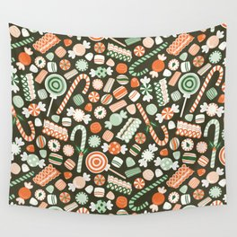 Christmas Candy Wall Tapestry