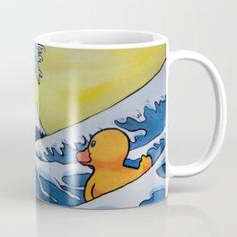 MOUNT FUJI VS RUBBER DUCK Coffee Mug