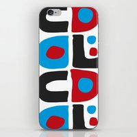 code iPhone & iPod Skins featuring CODE by Apolo Arauz