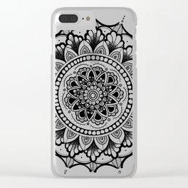 Courage Zendala Clear iPhone Case