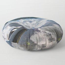 Tranquility At Its Best - Alaska Floor Pillow