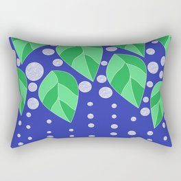 dots leaves Rectangular Pillow