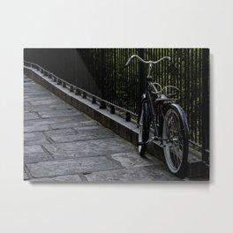 The Lonely Bike Metal Print