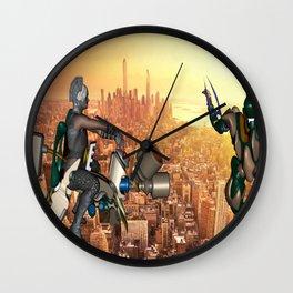 Defense of Planet Earth Wall Clock