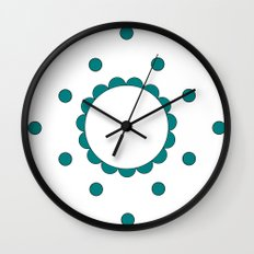 Pigtails Wall Clock