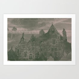 unknown sorroundings Art Print
