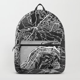 Cape Town South Africa City Street Map Backpack