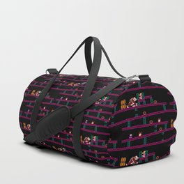 Donkey Kong Retro Arcade Gaming Design Duffle Bag