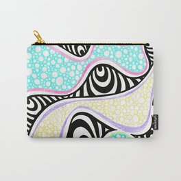 Lesser spotted time tunnel patterns Carry-All Pouch