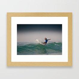Alana Blanchard Surf, Hossegor- France - 2013 Framed Art Print