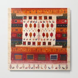 N38 - Epic Bohemian Traditional Andalusian Moroccan Artwork Metal Print
