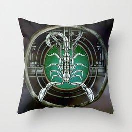 """Astrological Mechanism - Scorpio"" Throw Pillow"