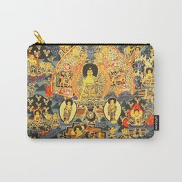 Mandala Buddhist 7 Carry-All Pouch