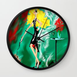 CHIC by Maricela del Rio Wall Clock